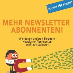 newsletter Abonnenten steigern