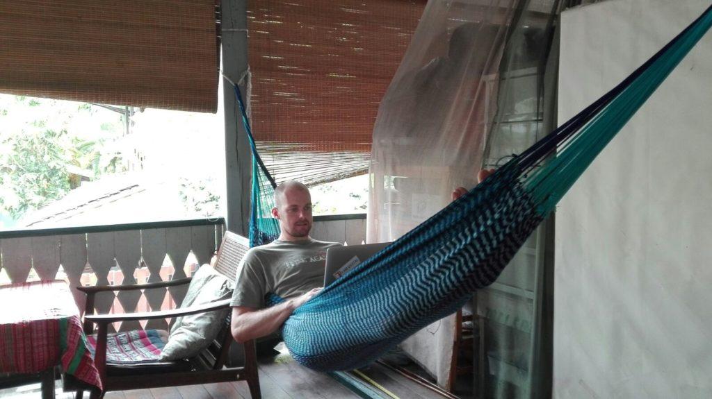 Ortsunabhängiges Arbeiten - Daniel, Chiang Mai Thailand 2016