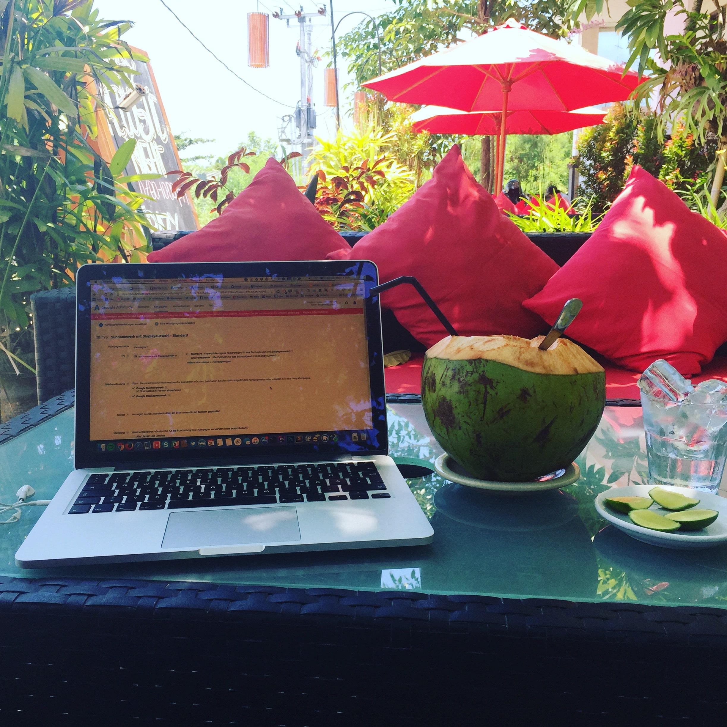 Digitaler Nomade Bali