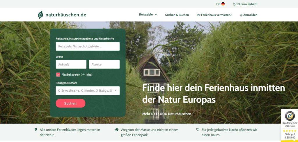 Naturhäuschen.de - Nachhaltige Unterkünfte in der Natur