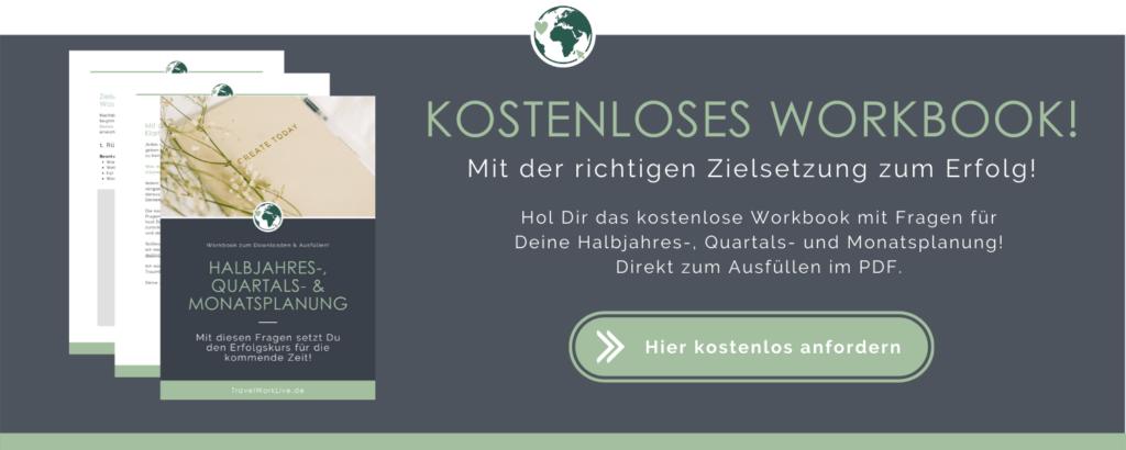 Workbook - Halbjahres-, Quartals- & Monatsplanung Banner