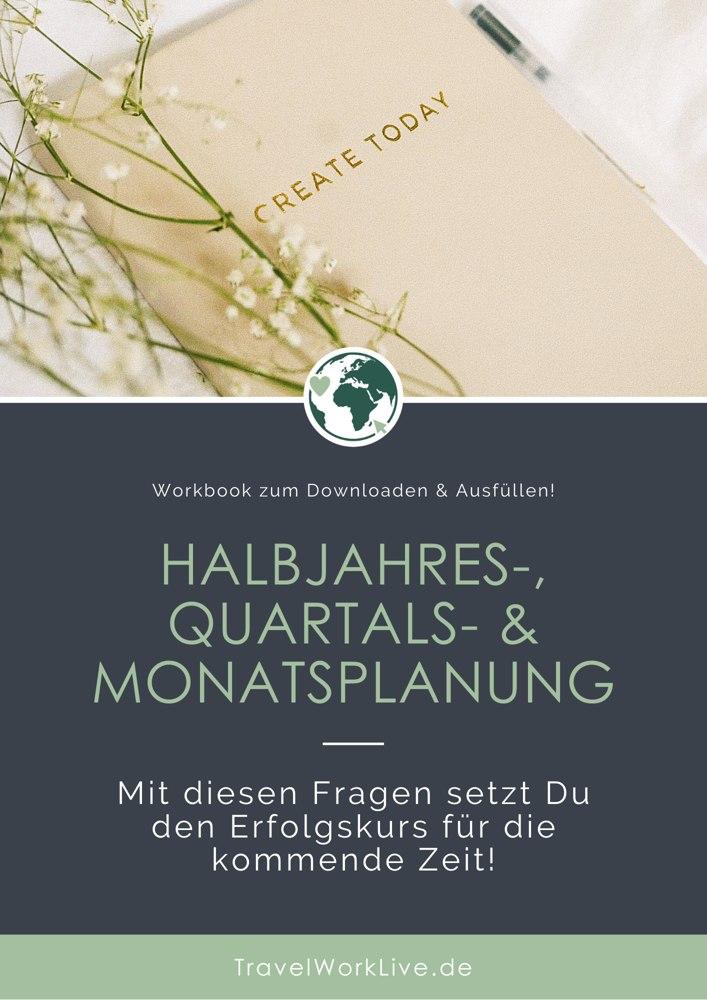 Freebie - Halbjahres-, Quartals- & Monatsplanung Titelbild