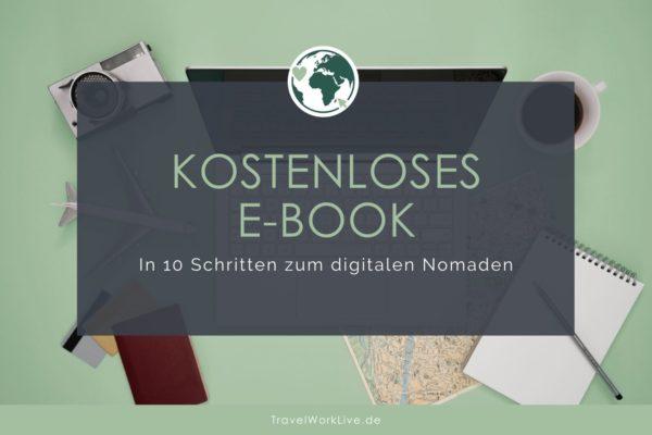 In 10 Schritten zum digitalen Nomaden - E-Book Header