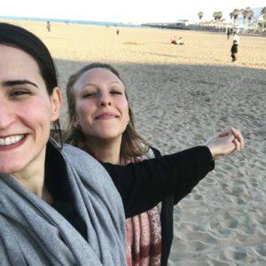 Leben und Arbeiten in Spanien - Silvester am Strand